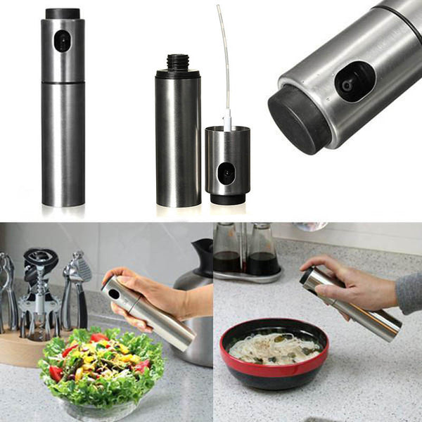 Stainless Steel Mister Olive Oil Spray Pump