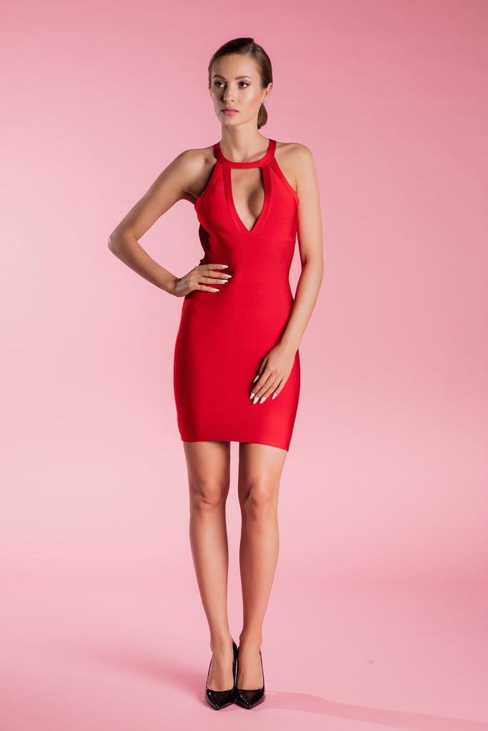 Red Bandage Dress Ilaria