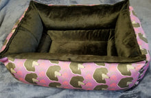 Poodle Bed - Black Rose