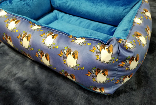 Papillon - Design 1 - Blue