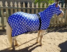 Mini Horse Slinky - Orange stripes