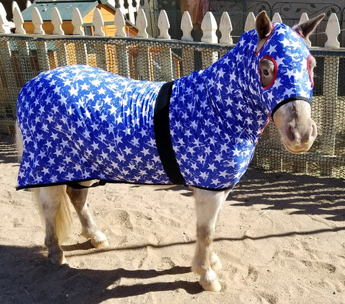 Mini Horse Slinky - Red White & Blue