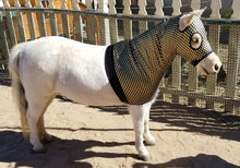 Mini Horse Slinky - Gold & black