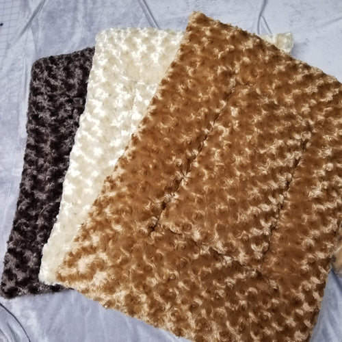 Faux Fur Mat - Small #100 Crate