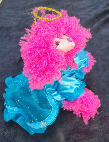 Angel poodle with cape FREE SHIPPING!