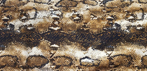 New! Slinky - Brown Snakeskin