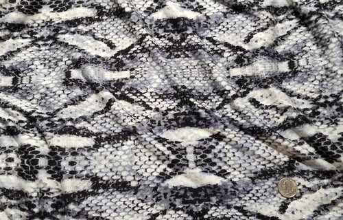 New! Slinky - Gray Snakeskin