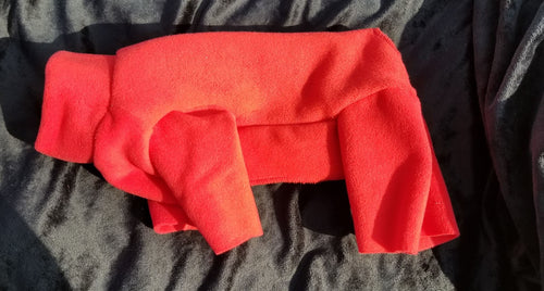 Plush Fleece - Red