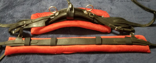 Back Saddle & Breast Collar Pad Set
