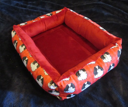 Japanese Chin Bed - Red