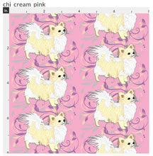 Chihuahua - Pink with Cream Long Coat