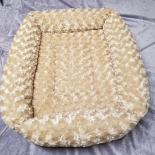 Faux Fur Rectangle Bed - Giant