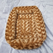 Faux Fur Rectangle Bed - Small
