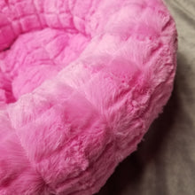 Faux Fur Round Bed - Small