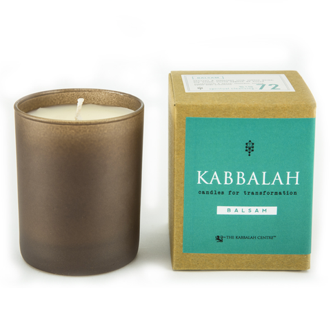 Kabbalah Candles for Transformation 8 oz. Balsam 378