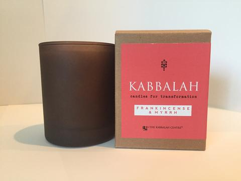 Kabbalah Candles for Transformation 8 oz. Frankincense/Myrrh