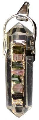 Crystal Doublle Turmated W- 7 Tourmaline - Awesome Sauce Gifts
