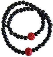 Cinnabar & Onyx Double Wrap Bracelet - Awesome Sauce Gifts