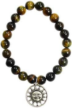 Tiger Eye Joy Sunface Silver - Awesome Sauce Gifts