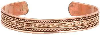 Copper Braided Bracelet - Awesome Sauce Gifts