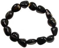 Black Tourmaline Gemstone Bracelet - Awesome Sauce Gifts