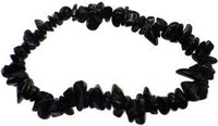 Obsidian, Black Chip Bracelet - Awesome Sauce Gifts