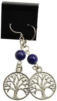 Lapis Tree Of Life Earrings - Awesome Sauce Gifts