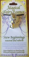 New Beginnings Fairy Essence Pendant - Awesome Sauce Gifts