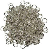 Jump Rings, Silver Plated 1oz - Awesome Sauce Gifts