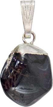 Garnet Tumbled Pendant - Awesome Sauce Gifts