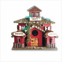 Wood Bird House - Finch Valley Winery - Awesome Sauce Gifts