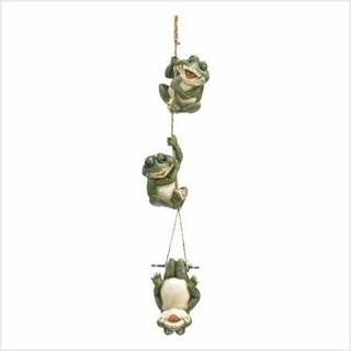 Frolicking Frogs Hanging Decor - Awesome Sauce Gifts
