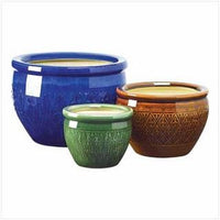 Jewel-Tone Flower Pot Trio - Awesome Sauce Gifts