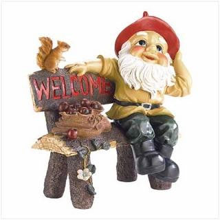Garden Gnome Welcome Statue - Awesome Sauce Gifts