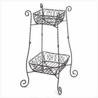 Wire Basket Plant Stand - Awesome Sauce Gifts
