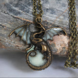 Game of Thrones Luminous Dragon Pendants & Necklaces GLOW in the DARK - Awesome Sauce Gifts