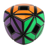 X-cube Hollow Skewb 57mm 3x3x3 Bread Pillow Shape Magic Cube PVC Sticker Twist Puzzle Educational Toys For Kids