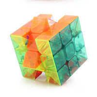 Professional Transparent Magic Cube Speed Cube Puzzle Twist Logical Thinking Magic Cube