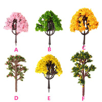DIY Potted Miniature Tree Plants Fairy Garden Accessories Ornament Decor Micro Landscape Garden Display Materials