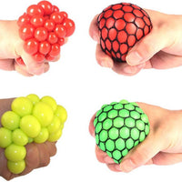 Squeezing Press Venting Ball Grape Shape Squeeze Toy Stress Relief