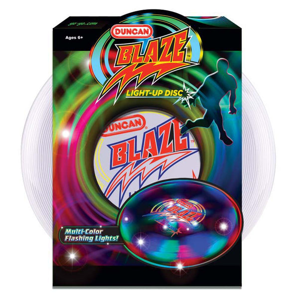 Duncan Blaze Light-Up Disc Embedded LED's 135 Gram Frisbee