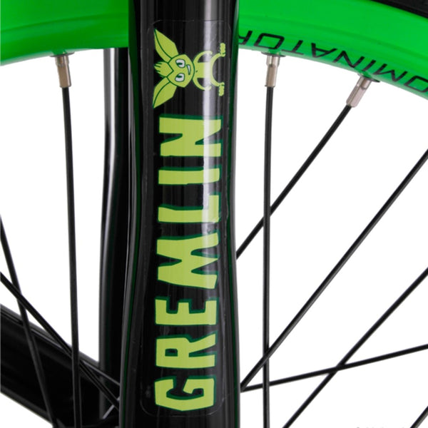 "Nimbus Gremlin Trials Unicycle 19"" - Black with Green Rim"
