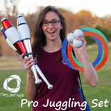 Taylor Tries Pro Juggling Set