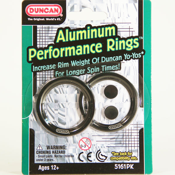 Duncan Aluminum Performance Rings or Weight Rings for Your Yo-Yo