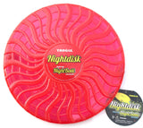 NightDisk LED Light Up Flying Disc by Tangle Creations