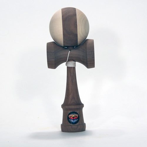 Bahama Kendama Deluxe Hardwood Kendama - Walnut and Maple