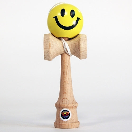 "Bahama Kendama Smiley Face - 4.5"" Pocket Kendama"