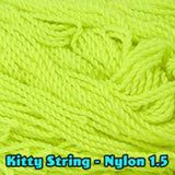 Kitty String Nylon 1.5 Yo-Yo String - 100 Pack of String
