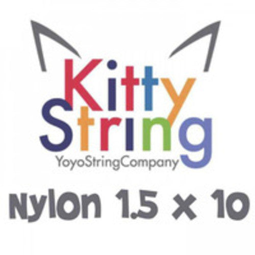 Kitty String Nylon 1.5 Yo-Yo String - 10 Pack of String