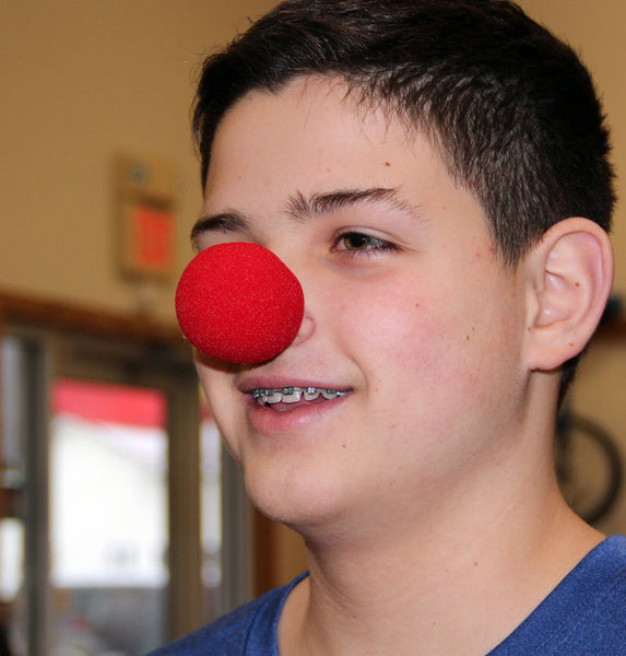 Soft Red Clown Nose